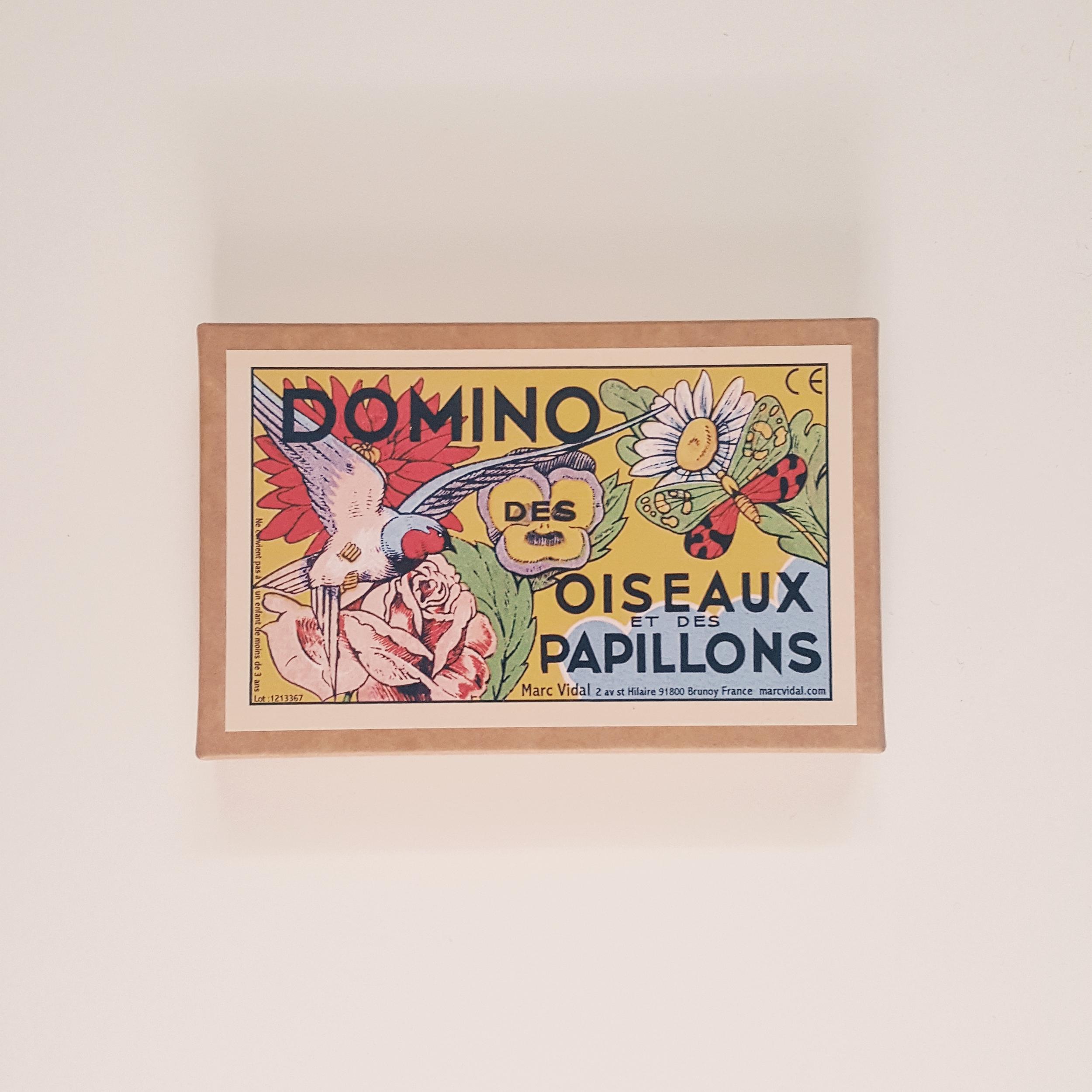 Domino des papillons et des oiseaux