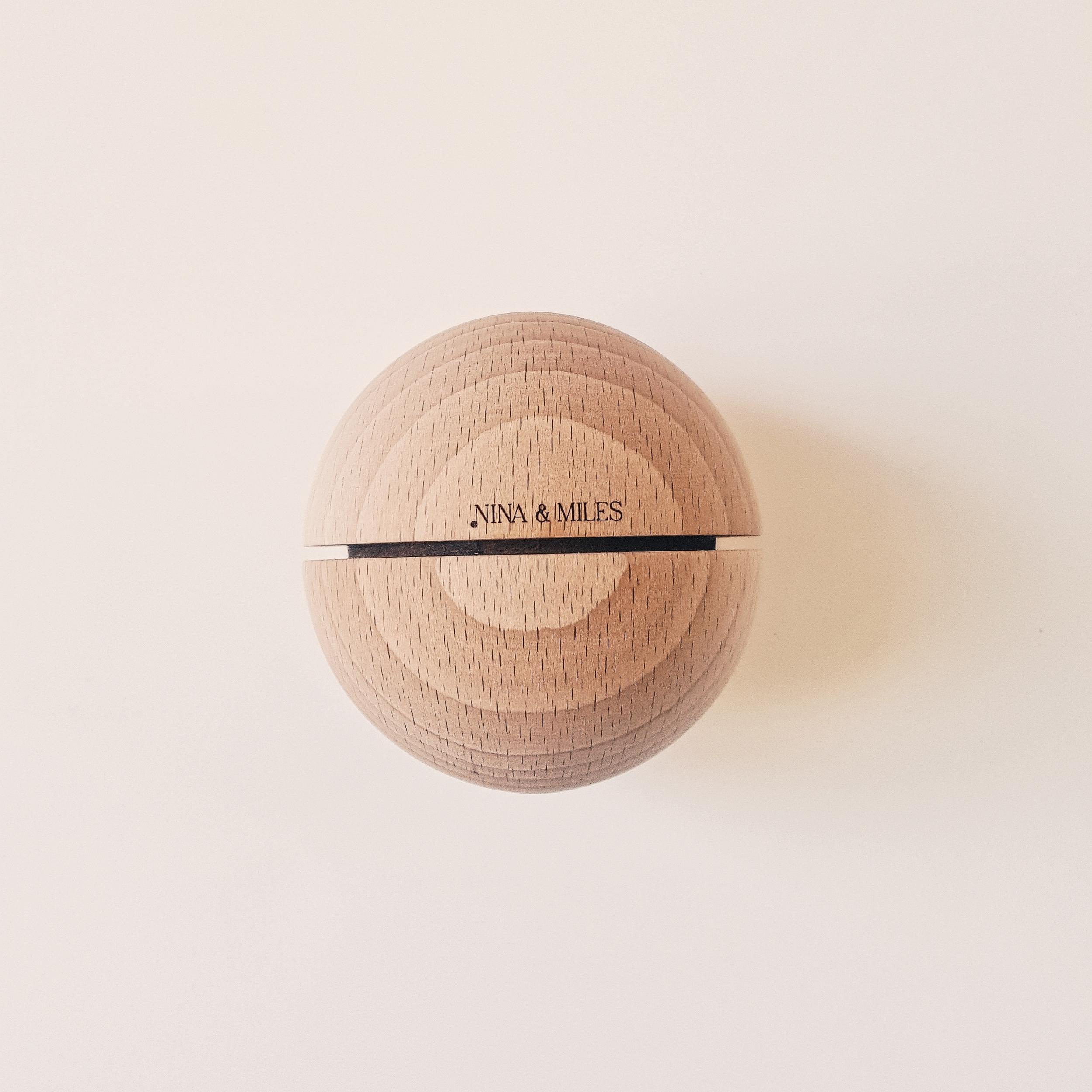 Boule sonore Montessori - grand modèle