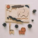puzzle animaux bois