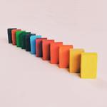 blocs de cire à colorier