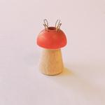 tricotin champignon en bois
