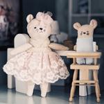 personnages souris miniatures