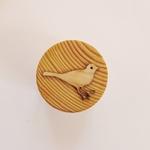 tampon pâte à modeler oiseau