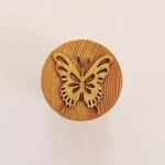 tampon pâte à modeler papillon