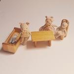 poupées famille souris