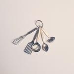 miniatures inox vaisselle poupée