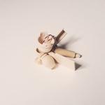 vaisselle en bois pour poupées