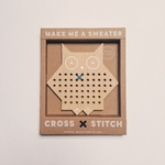 carte à lacer en bois