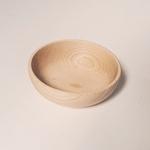 bol à céréales en bois