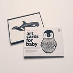 cartes bébé noir et blanc