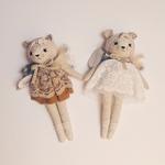 duo poupées souris