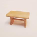 table en bois miniature