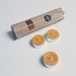 bougies chauffe plat 100% cire dabeille