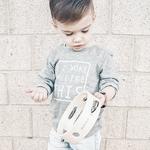 tambourin bois enfant