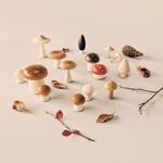 décoration automne champignon