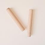 paire de claves en bois