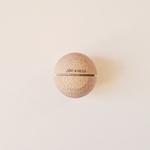 boule sonore montessori bois