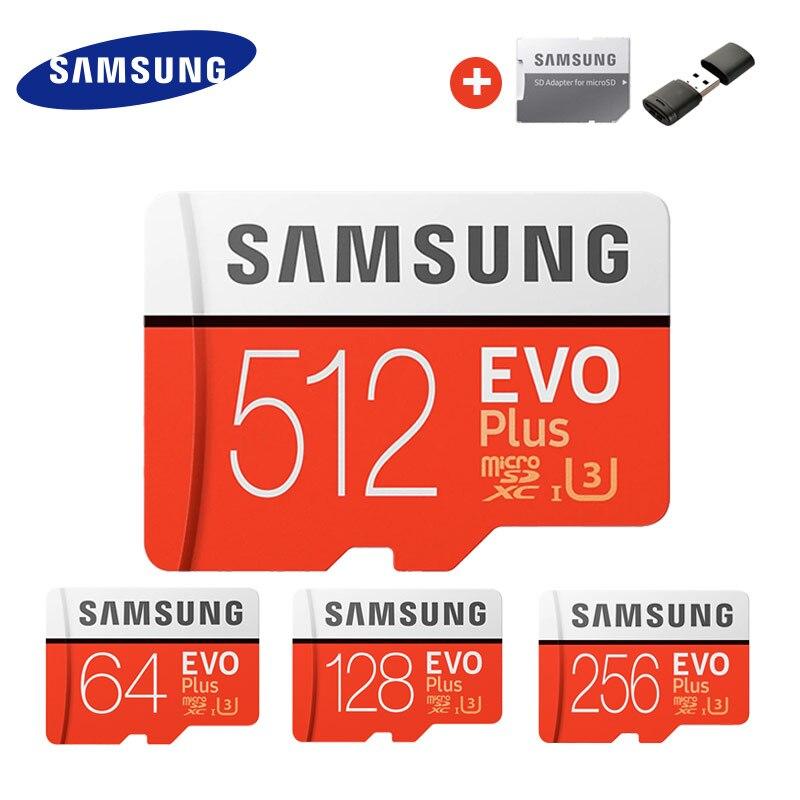 Carte micro SD SAMSUNG EVO + Adaptateur SD