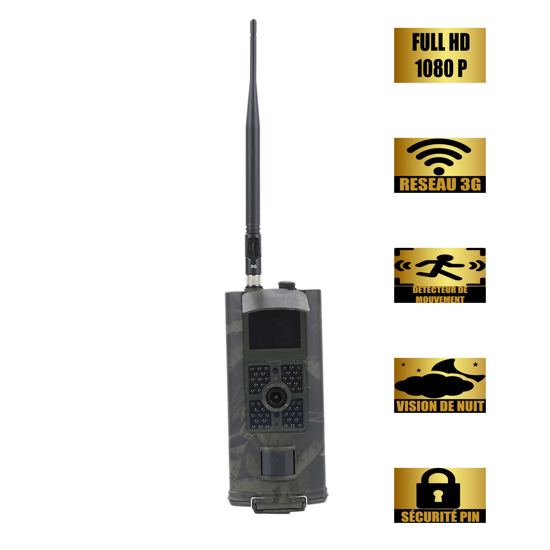 Caméra de chasse GSM 3G