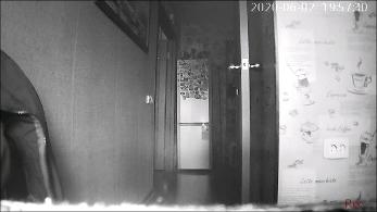 Image de nuit réveil caméra espion