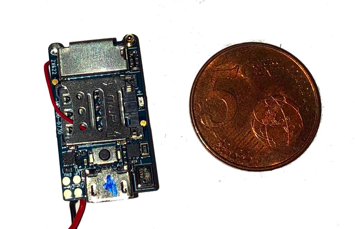 PRO25 microphone espion à distance GSM+GPS