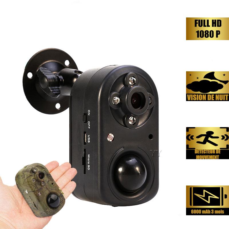 Caméra de chasse longue autonomie