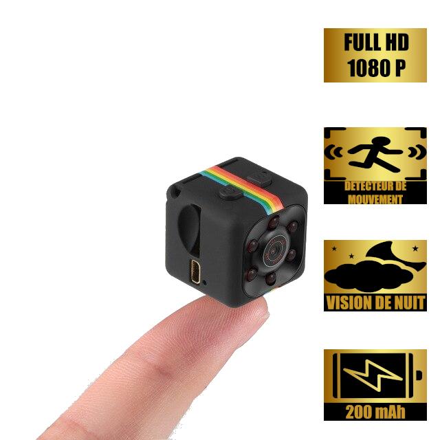 Mini Caméra Full HD 1080P