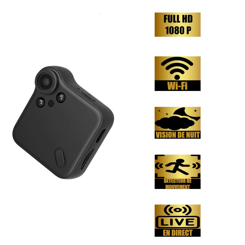 Mini caméra IP/WIFI HD 1080P