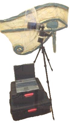Microphone parabolique professionnel