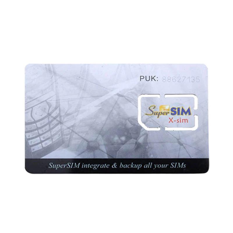 Carte SIM Européenne Anonyme Appel/SMS illimité 2 GO 1 mois