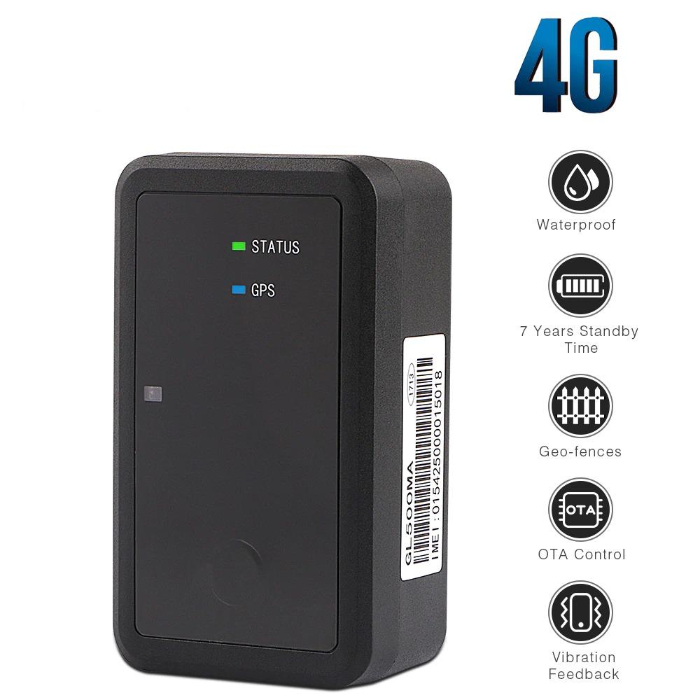 Tracker GPS 4G Autonomie 7 ans