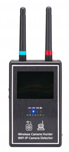 Détecteur de caméra espion par radiofréquence