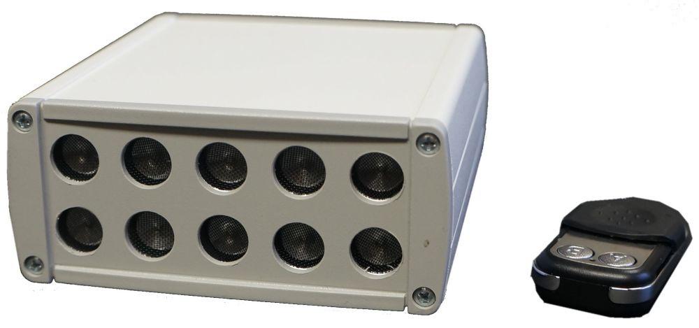 Brouilleur de microphone par ultrason SEL-310 Komar