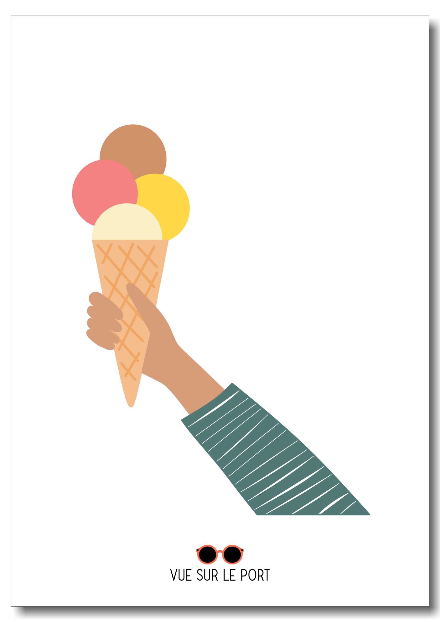 Affiche glace