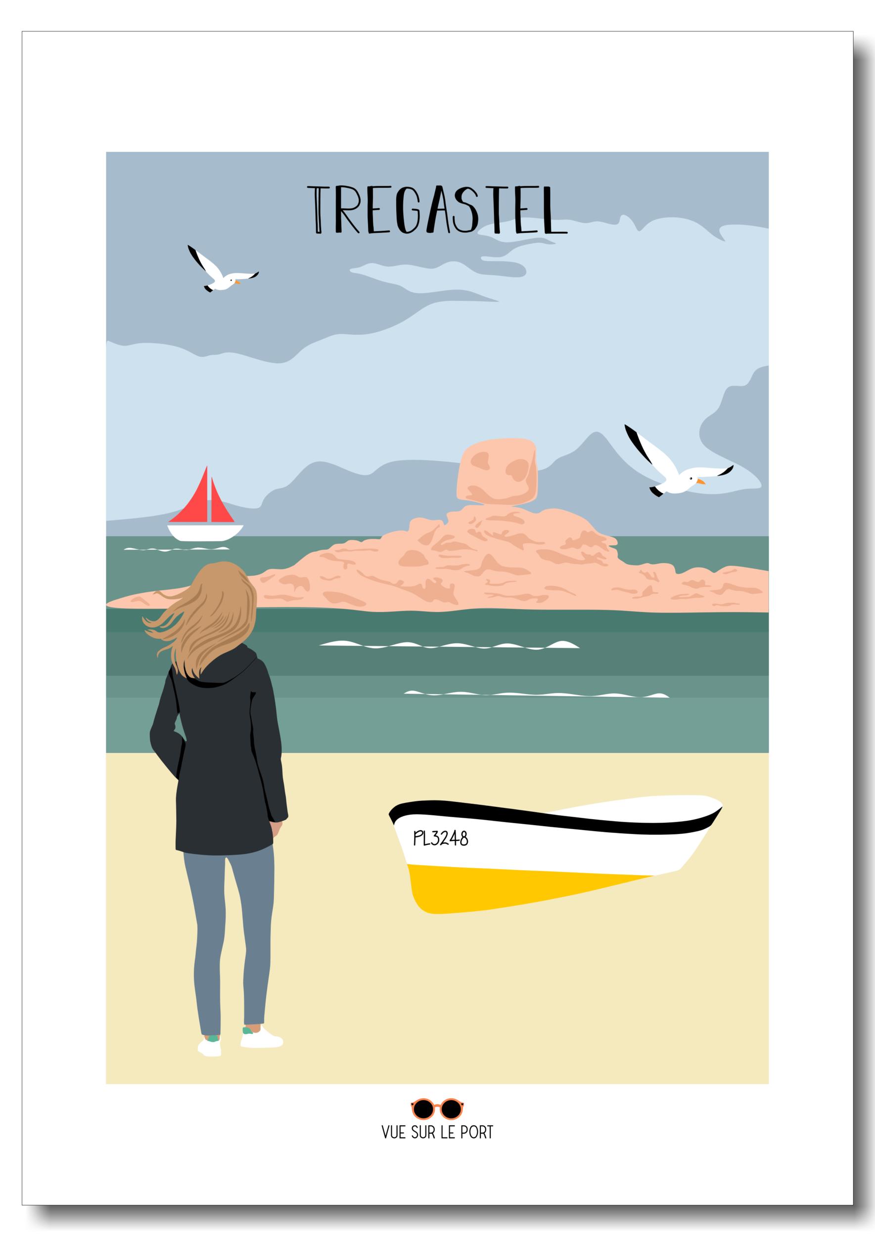 Affiche Tregastel