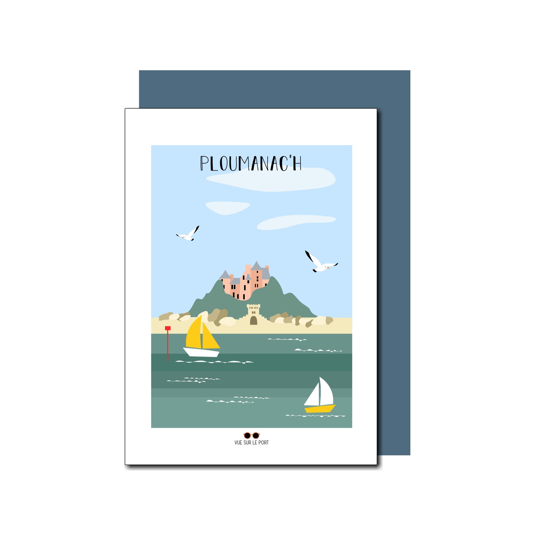 carte Ploumanach