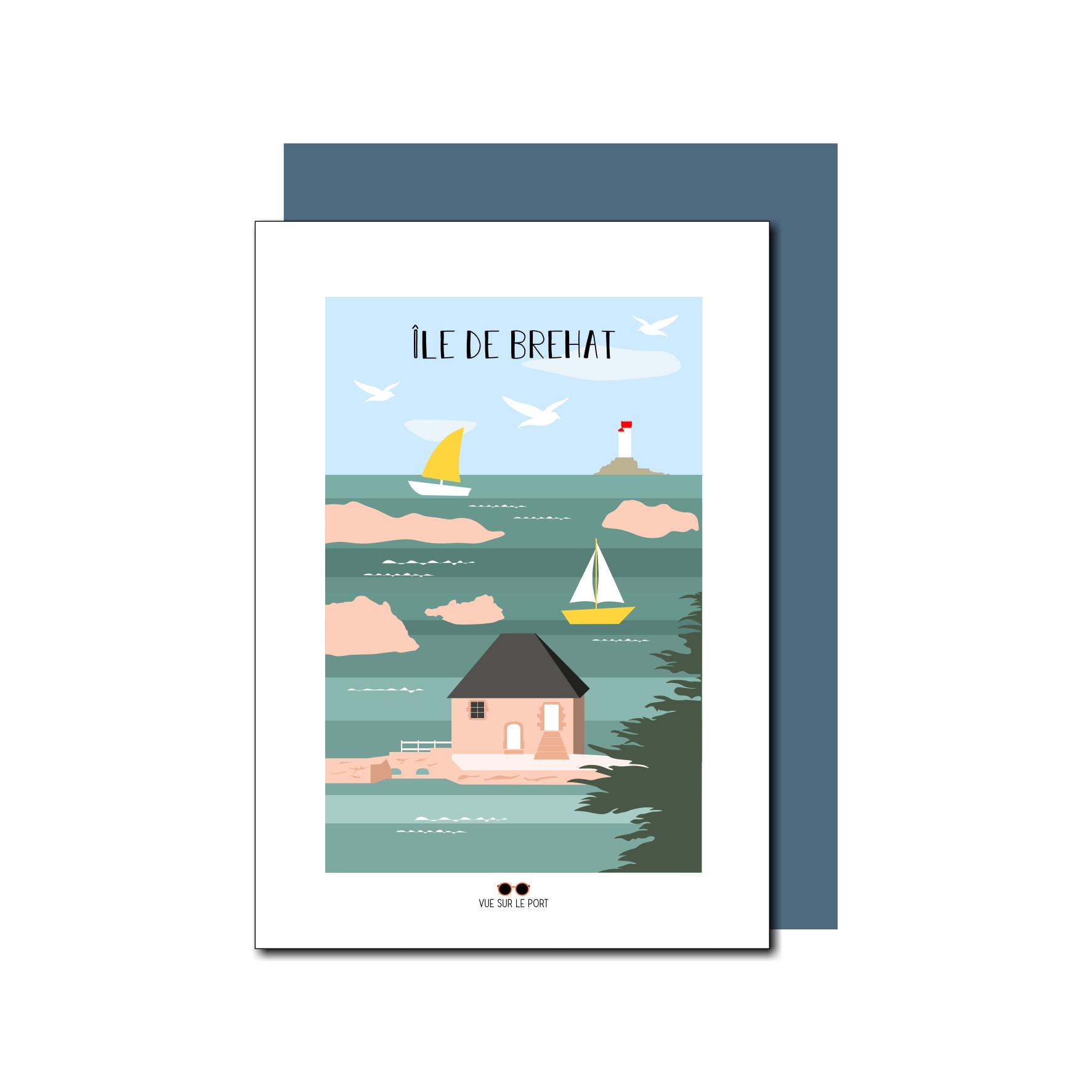 Carte Île de Brehat