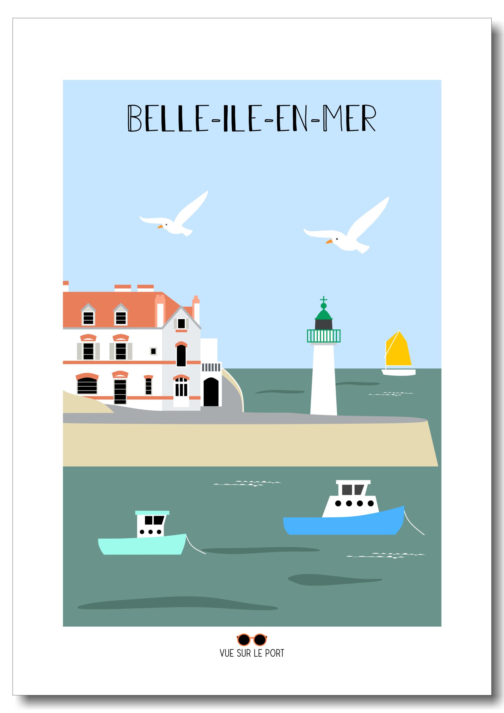 Affiche Belle-île-en-Mer