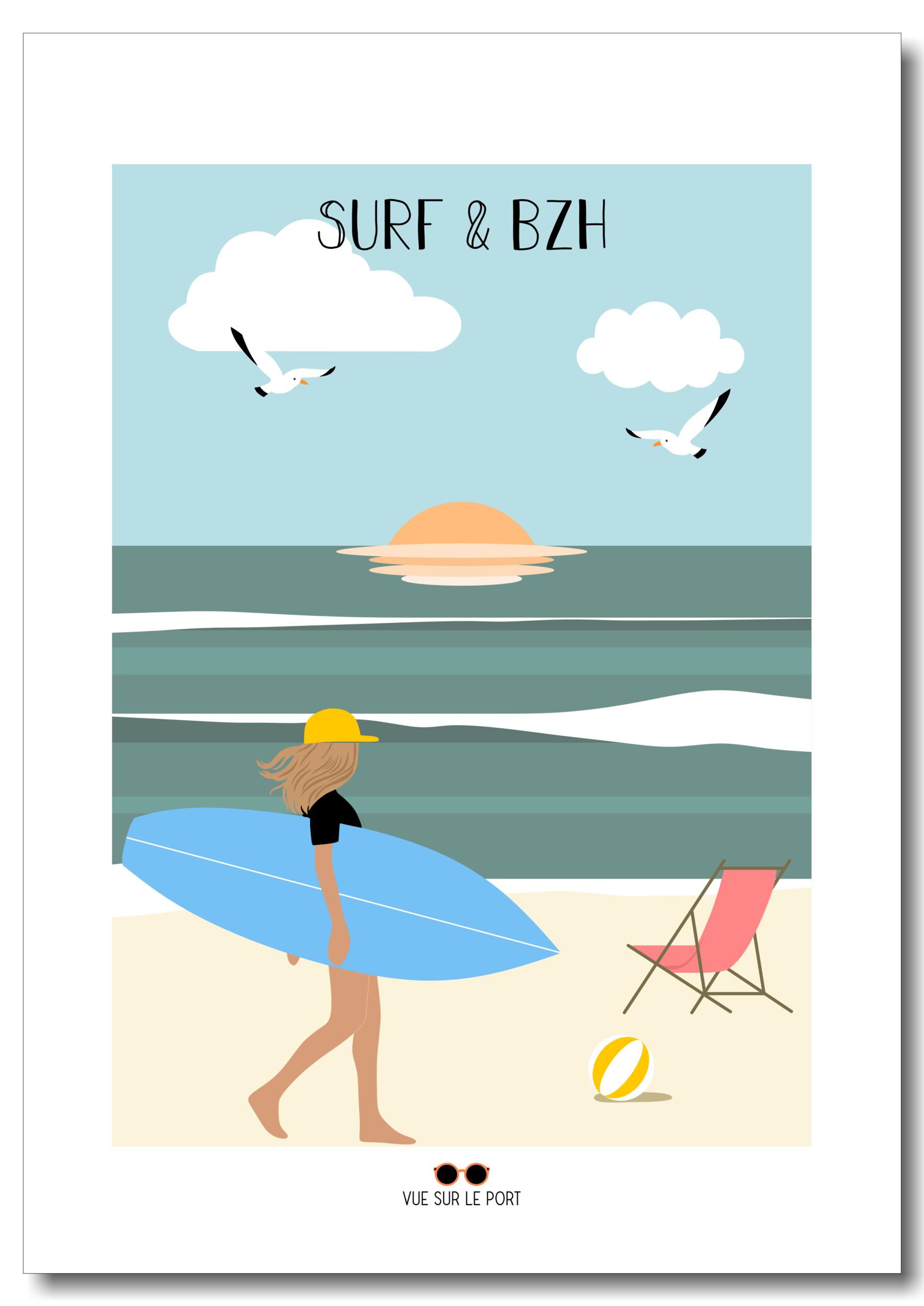 surh&bzh etsy personnalisable