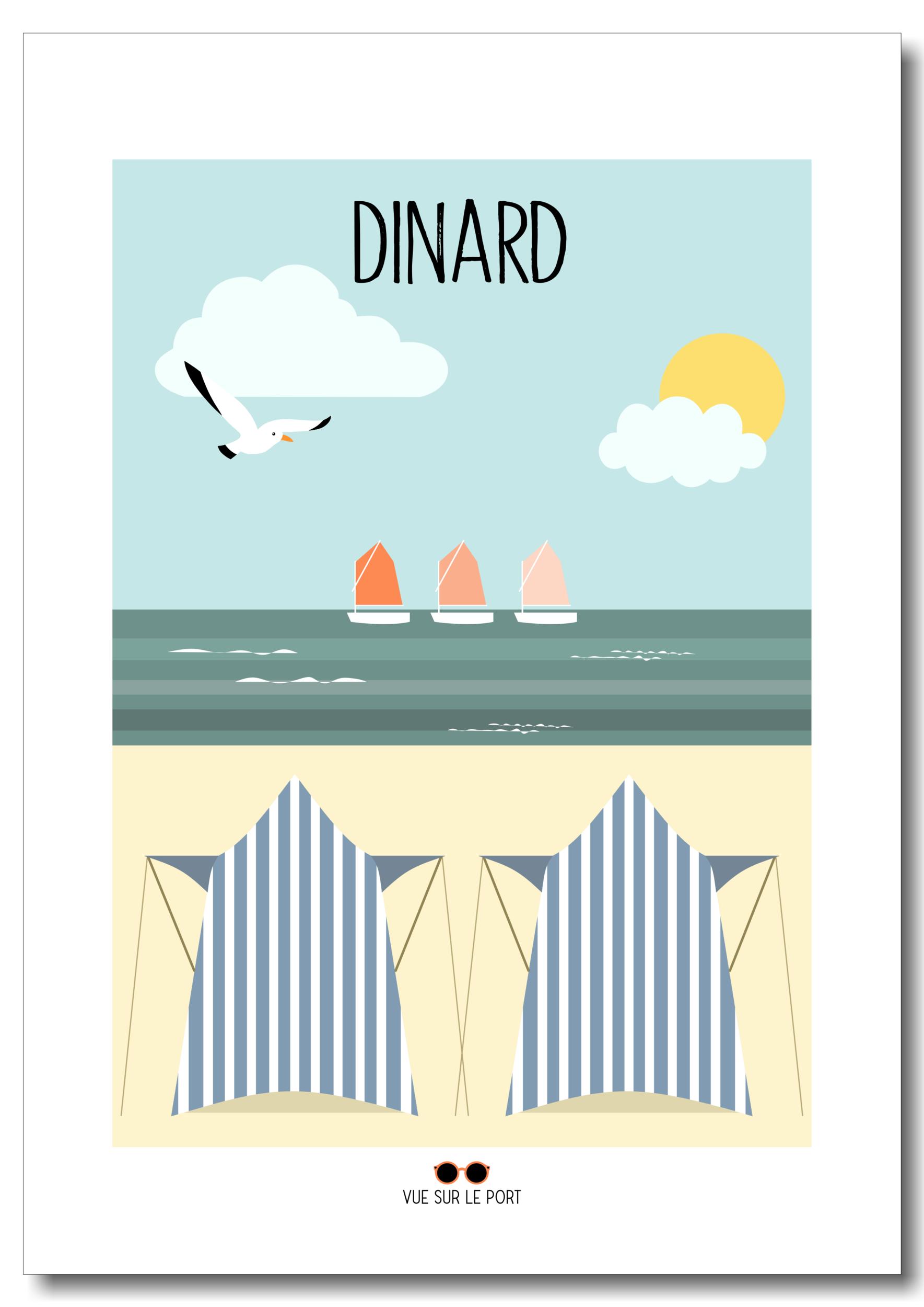 Affiche Dinard