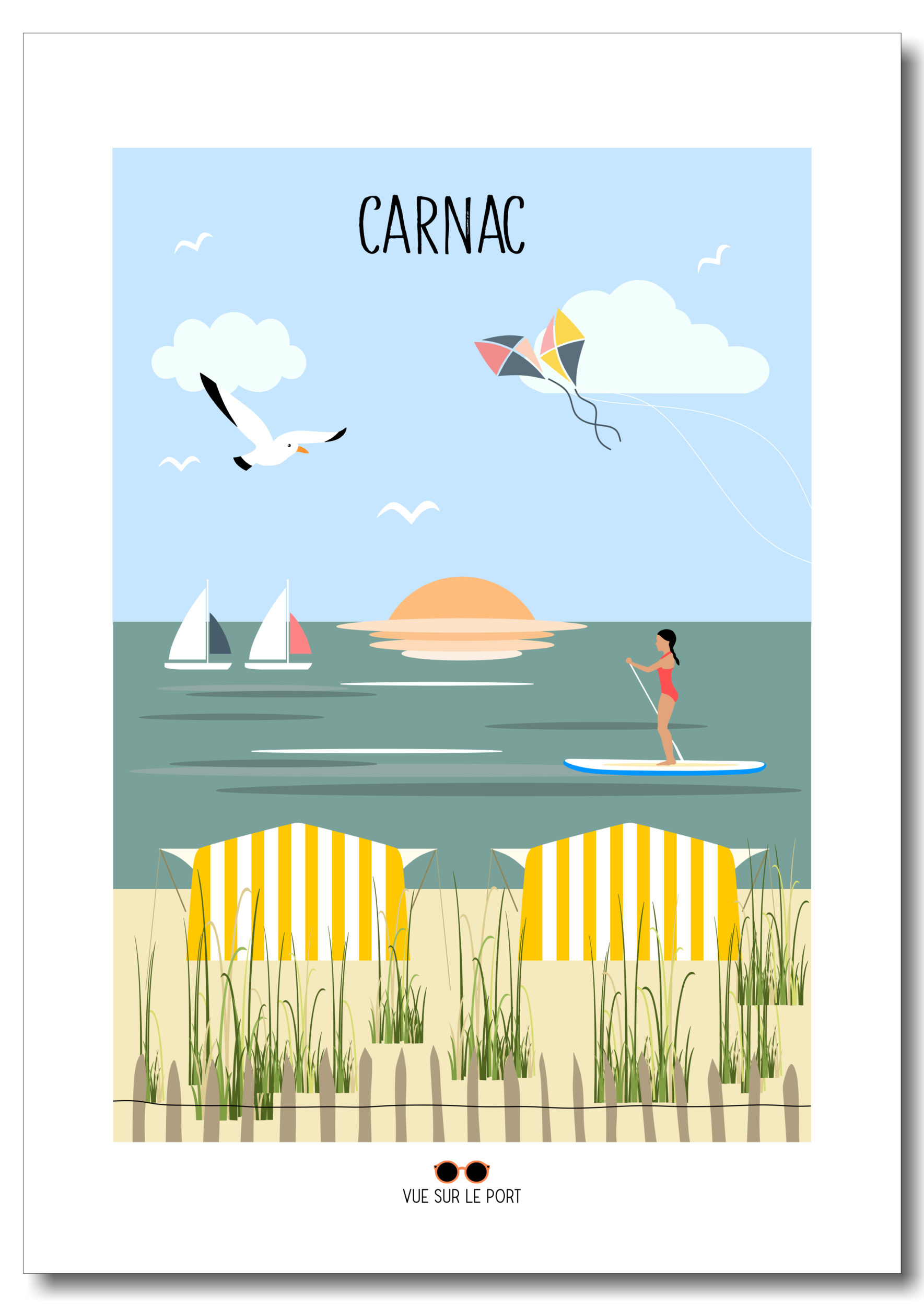 carnac etsy personnalisable