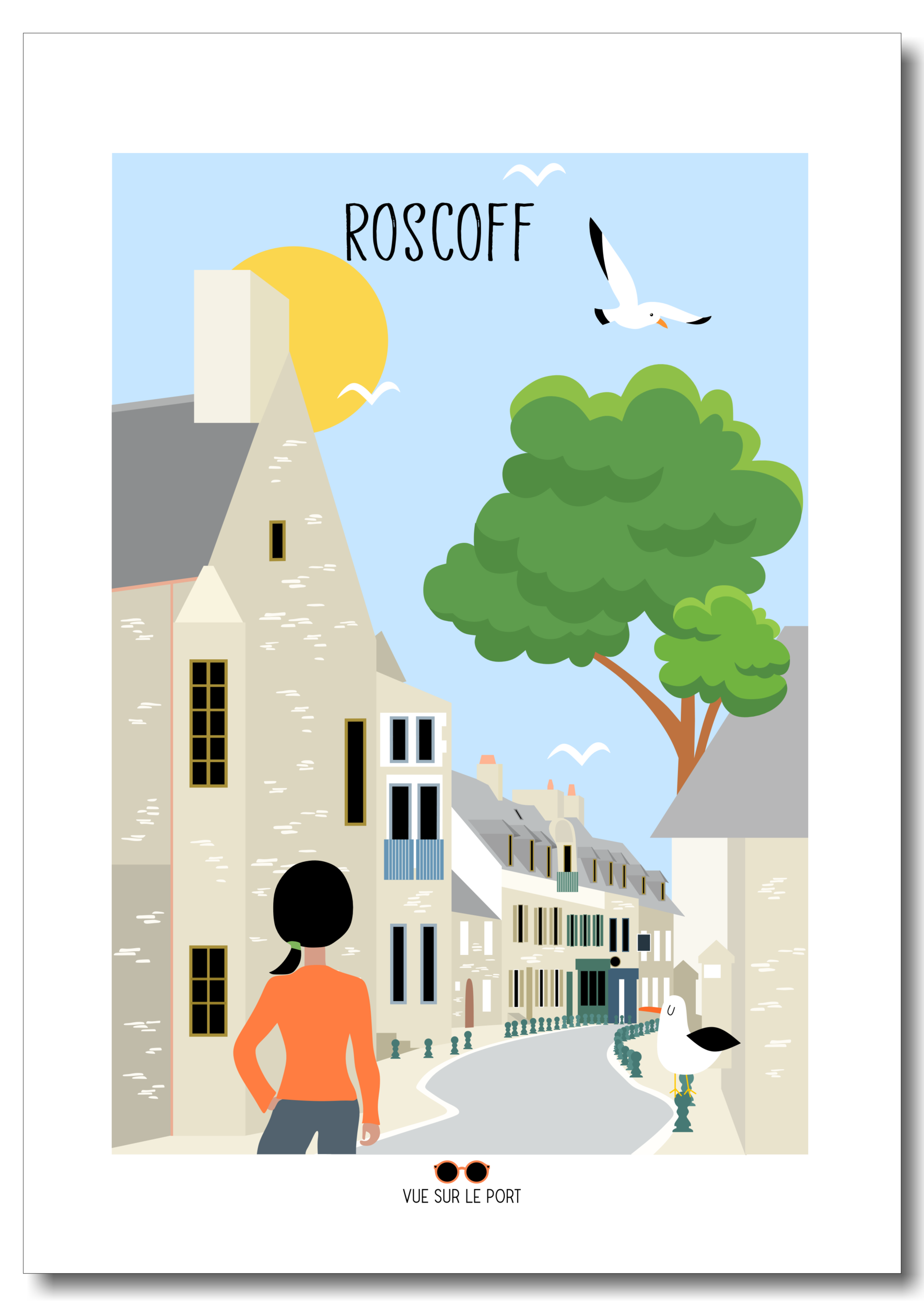 roscoff etsy personnalisable