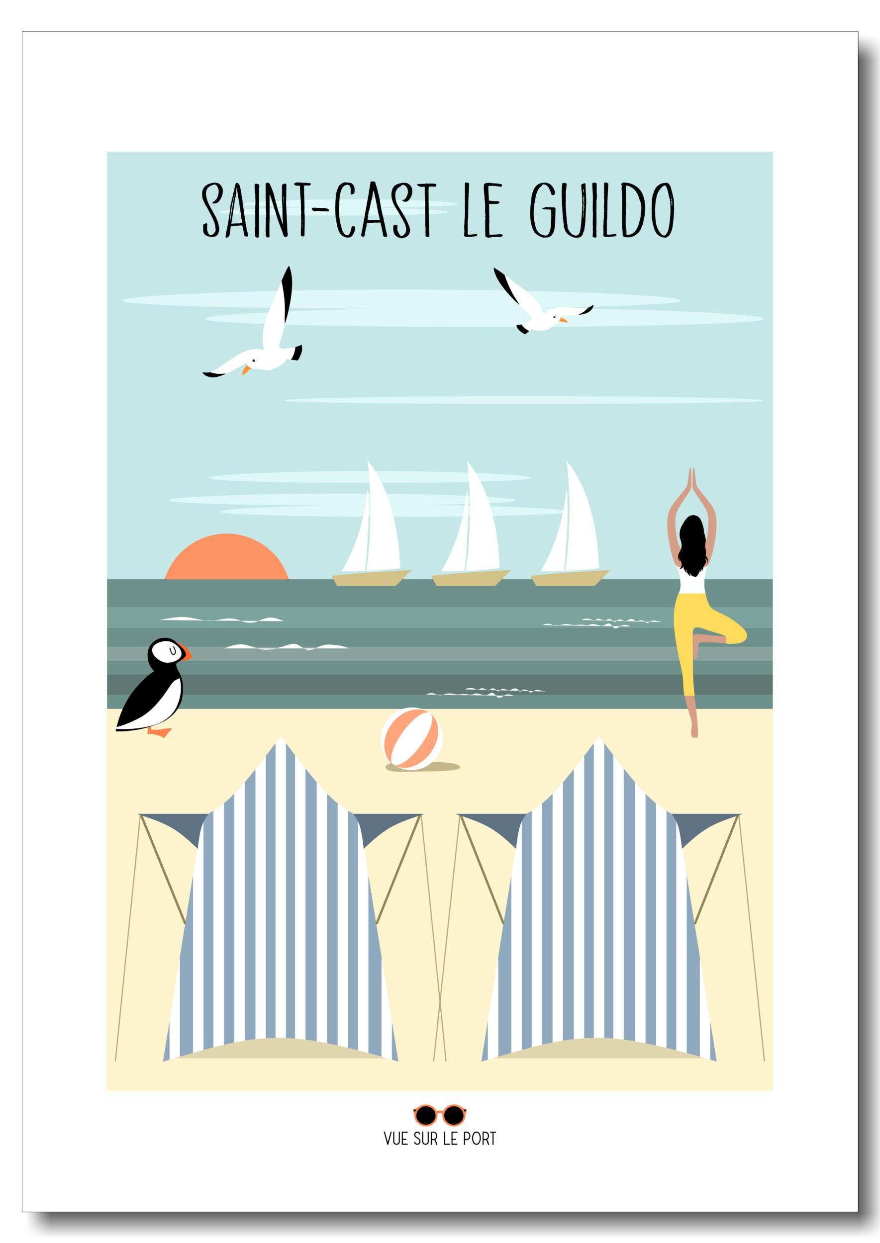 Affiche Saint-Cast le Guildo
