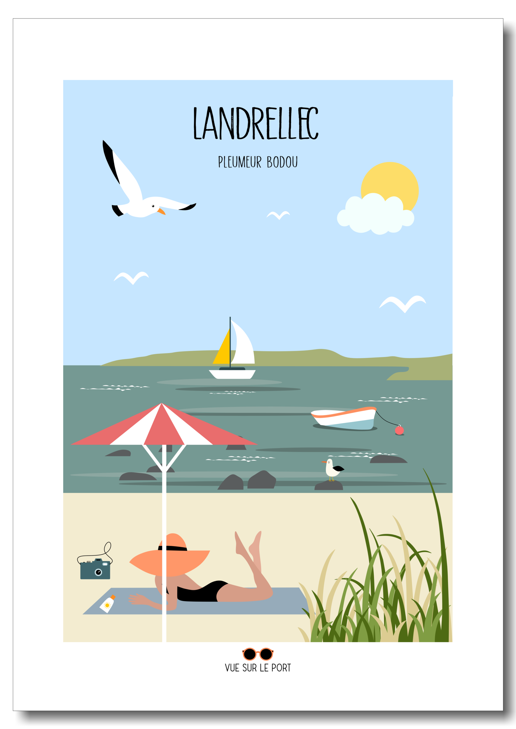 Affiche Landrellec