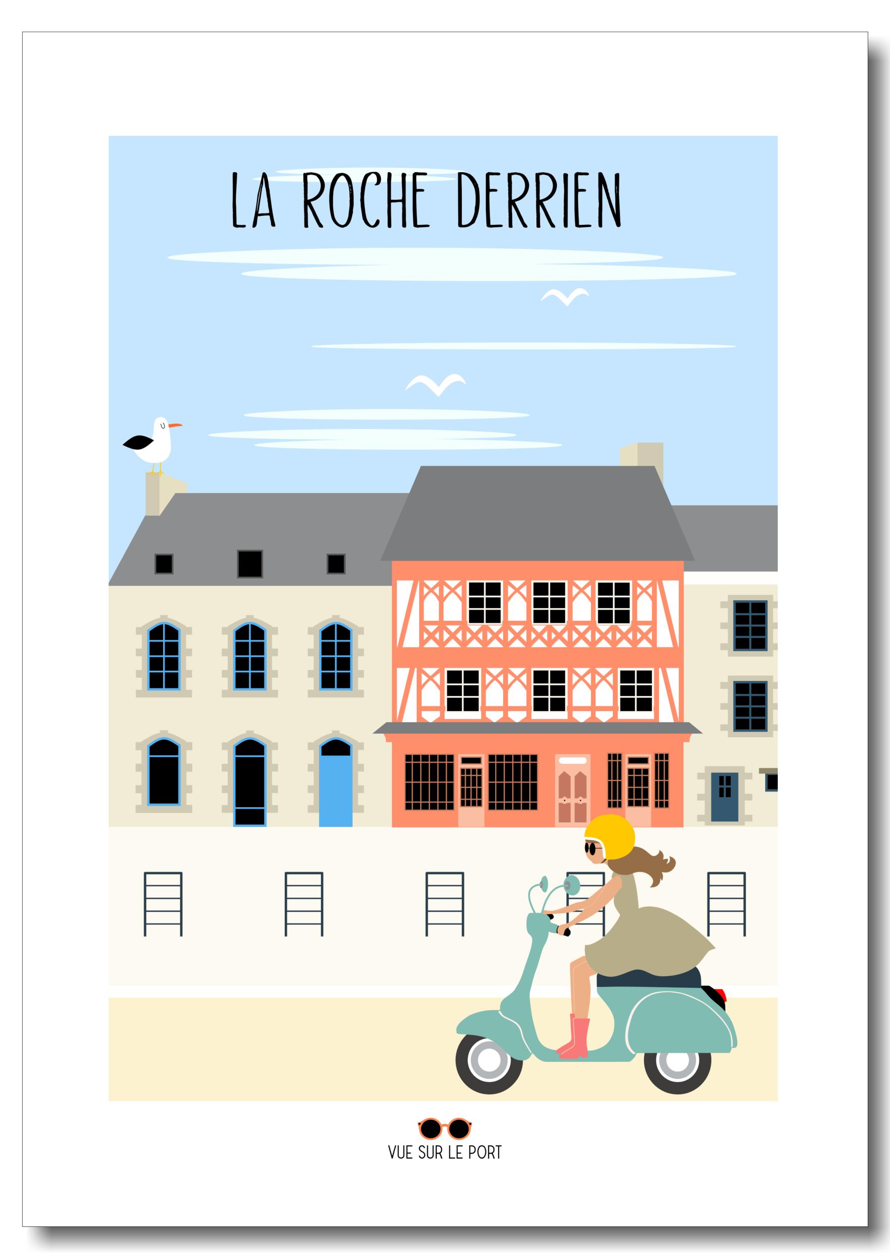 Affiche La Roche Derrien