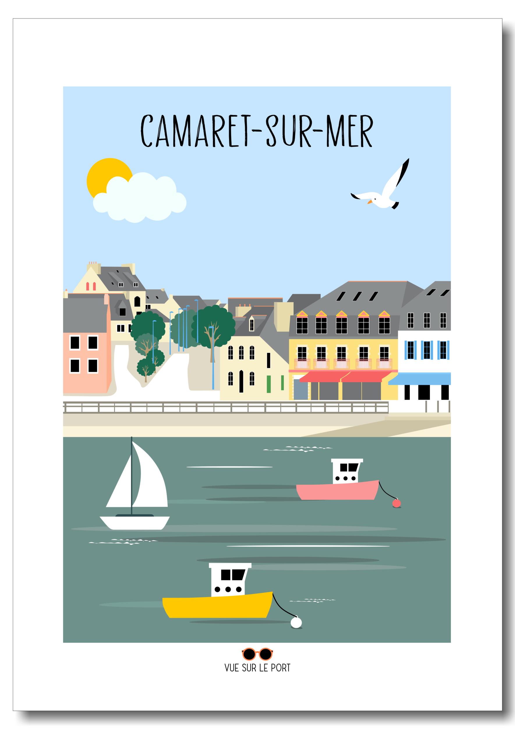 Affiche Camaret-sur-Mer