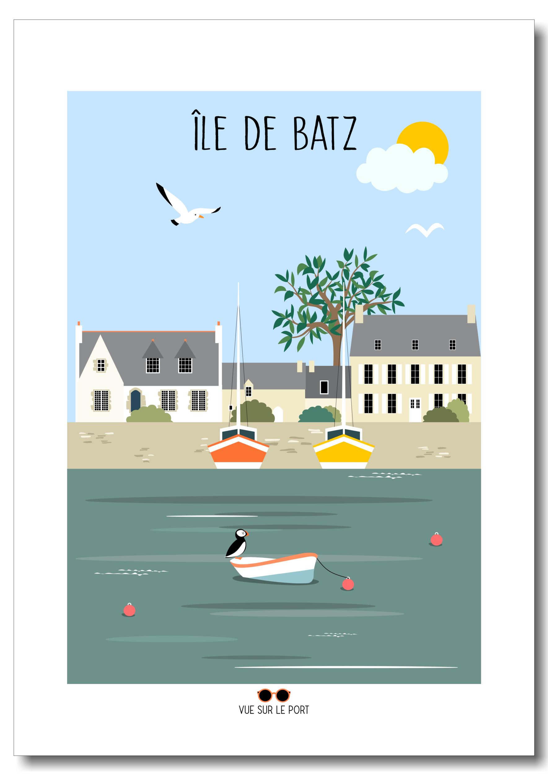 Affiche Île de Batz