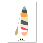 Paddle multicolore etsy