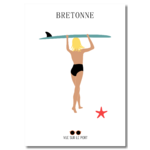 surf fille etsy personnalisable