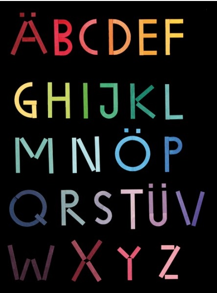 Alphabet magnétique casse-tête Grimm\'s